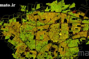 دانلود فایل اتوکد نقشه شهر خوی