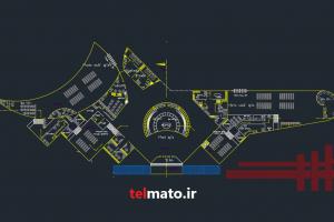 طراحی فرودگاه با اتوکد
