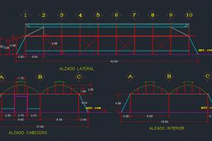 دانلود 6 پلان و نقشه اتوکد گلخانه DWG قابل ویرایش در Autocad + دستورالعمل اجرایی ترسیم